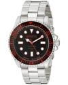 Men's Pro Diver Analog Display Swiss Quartz Silver Watch
