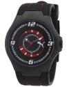 Men's Slim Pedal II Black IP Black Dial Watch