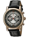 Men's Morano Analog Display Quartz Black Watch