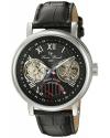 Men's Matador Analog Display Automatic Self Wind Black Watch