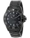Men's Luminous Analog Display Swiss Quartz Black Watch