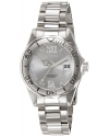 Women's Pro Diver Silver-Tone Watch with Crystal Accents