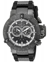 Men's Subaqua Sport Black Lon-Plated Chronograph Watch