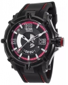 Men's Fortitudo Duo Analog Display Swiss Quartz Black Watch
