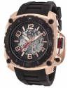 Men's The General Prime Analog Display Automatic Self Wind Black Watch