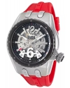 Men's Genesis Prime Analog Display Automatic Self Wind Red Watch