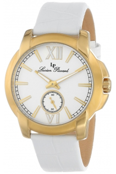 Women's LP-10025-YG-02-WH Cordoba Analog Display Japanese Quartz White Watch