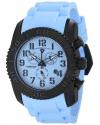 Men's Commander Analog Display Swiss Quartz Blue Watch