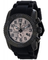 Men's Commander Analog Display Swiss Quartz Black Watch