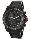 Men's Simulator Black Stainless Steel Watch