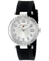 Women's Sea Breeze Analog Display Swiss Quartz Black Watch