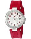 Women's Sea Breeze Analog Display Swiss Quartz Red Watch