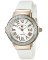 Women's South Beach Analog Display Swiss Quartz White Watch