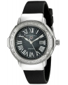 Women's South Beach Analog Display Swiss Quartz Black Watch