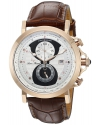 Men's Pegasus Analog Display Quartz Brown Watch