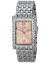 Women's Swarovski Crystal-Accented Stainless Steel Watch
