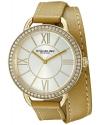 Women's Deauville Analog Display Quartz Brown Watch
