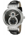 Men's Polaris Analog Display Quartz Black Watch