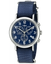 Men's Weekender Collection Blue Watch With Blue Nylon Band