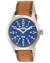 Mens Expedition Analog Elevated Tan Leather Strap Watch