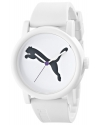 Women's Big Cat White Analog Display Quartz White Watch