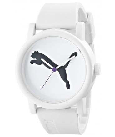 Women's PU103682001 Big Cat White Analog Display Quartz White Watch