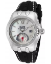 Women's 'Genesis Vision' Swiss Quartz Stainless Steel And Silicone Automatic Watch Color Black