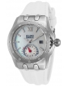 Women's 'Genesis Vision' Swiss Quartz Stainless Steel And Silicone Automatic Watch Color White