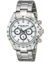 Men's Concorso Raceway Swiss Quartz Tachymeter Day and Date Stainless Steel Bracelet Watch
