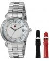 Women's  Layla Analog Display Swiss Quartz Stainless Steel Watch Set