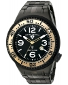 Men's 'Neptune Force' Swiss Quartz Stainless Steel Casual Watch