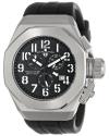 Men's Trimix Diver Chronograph Black Dial Black Silicone Watch