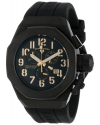 Men's Trimix Diver Chronograph Black Dial Black Silicone Watch