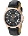 Men's Del Campo Analog Display Quartz Black Watch