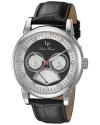 Men's Analog Display Quartz Black Watch