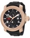 Men's Russian Diver Sea Hunter Black Dial Black Polyurethane Watch