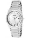 Men's Dress Silver Tone Stainless Steel Watch