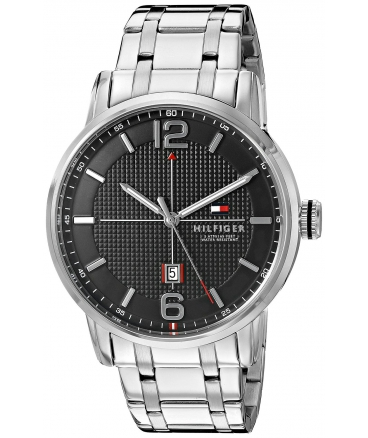 Men's George Analog Display Japanese Quartz Silver Tone Watch