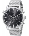 Men's Silver Tone Stainless Steel Watch