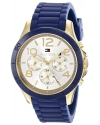 Women's Sophisticated Sport Analog Display Quartz Blue Watch