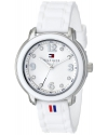 Women's Crystal Accented Stainless Steel Watch
