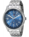 Men's Classic Stainless Steel Blue Dial Watch