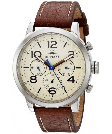 Men's  Jake Analog Display Japanese Quartz Brown Watch
