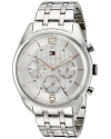 Men's Sophisticated Sport Analog Display Quartz Silver Watch