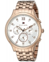 Women's Sophisticated Sport Analog Display Quartz Rose Gold Watch