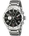 Men's Cool Sport Analog Display Quartz Silver Watch