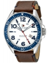 Men's Casual Sport Analog Display Quartz Brown Watch