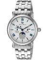Men's Sierra Analog Display Quartz Silver Watch