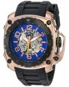 Men's The General Prime Stainless Steel And Silicone Automatic Watch Color Black