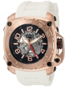 Men's The General Prime Stainless Steel And Silicone Automatic Watch Color White